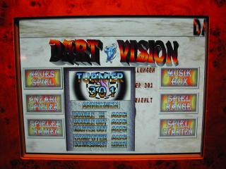Dart-Vision-Spielwahl
